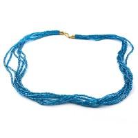 Colier FILI 6 bleu