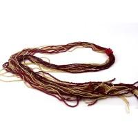 Colier LEGATO rosu cu auriu